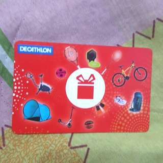 Decathlon Gift Card Worth $100