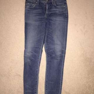 Aritzia Citizens of Humanity Rocket crop Aura Jeans
