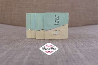 Etude House Fix And Fix Tone Up Primer Samples