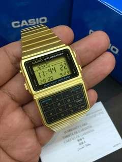 Casio DBC661G Vintage Gold