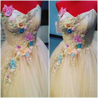 debut gown/js prom gown/ made to order