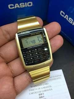 Casio CA506G Vintage Gold