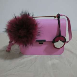 Authentic FURLA ELISIR pink crossbody bag