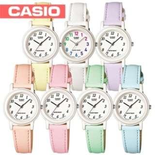 深水步有門市 全新原裝正版正貨有保養有單 Casio 手錶 LQ-139L