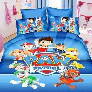 PAW PATROL QUILT COVERS