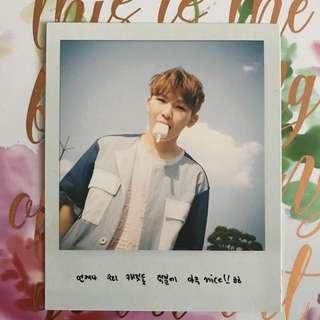 Woozi Aju Nice Photocard