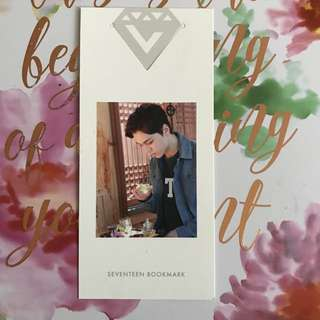 SEVENTEEN VERKWAN Pretty U Photocards/Bookmark