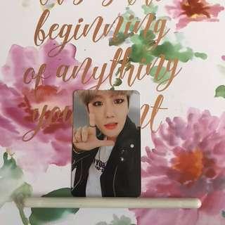 EXO BAEKHYUN Photocard