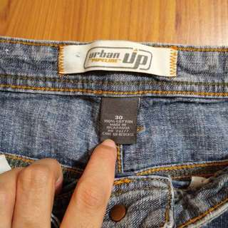 Urban Up Maong Shorts s30