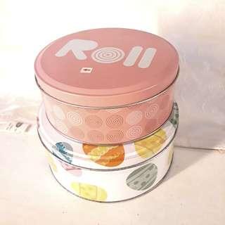 Kaleng Round candy set