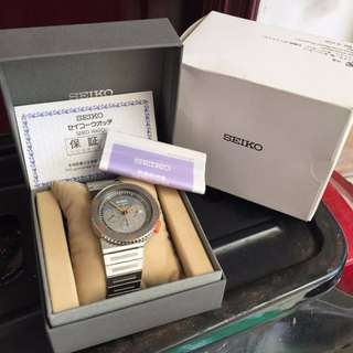 F&B BNIB NEW AUTHENTIC SEIKO GIUGIARO SCED 023. Limited Edition 2500 PCS. Warna : Silver.
