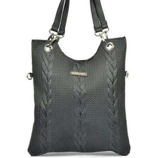 Mangotti Leather Tote Bag
