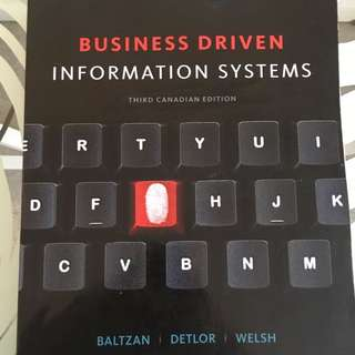Business Driven Information Systems  ITM
