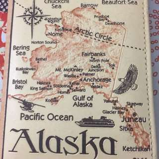 Alaska map photo album