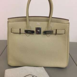 Authentic pre-loved Hermes Birkin 30