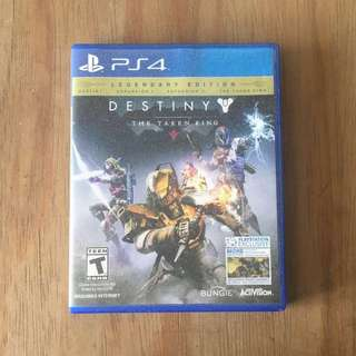 PS4 Destiny Taken King