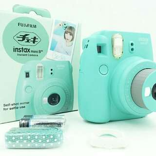 Fuji instax 8+ mini (mint green)