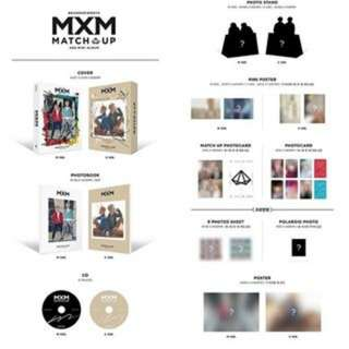 [PREORDER] MXM 2ND MINI ALBUM - MATCH UP