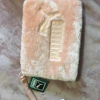 Puma Faux Fur Pink Clutch