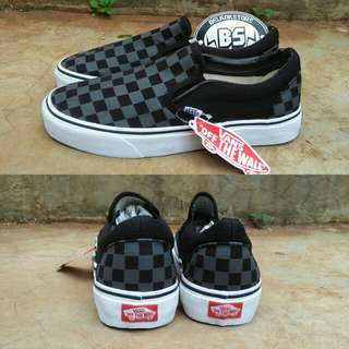 Vans slipon pewter black
