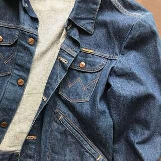 Wrangler denim jacket vintage