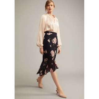 Witchery Plisse Collar Blouse Size 8 - Brand New with Tags RRP$119.95
