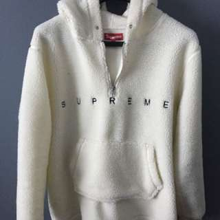 Supreme sherpa Hoodie