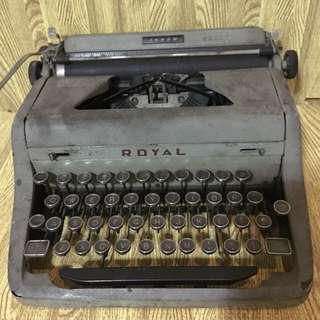 Royal typewriter small U.S. navy