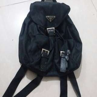Prada mini backpack nylon (not ori)
