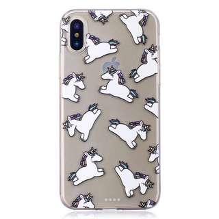 Unicorns iPhone X case