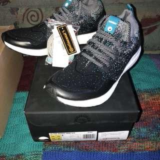 Adidas Consortium x Packer x Solebox Ultraboost Mid -Core Black & Energy Blue- Size 10.5 -Brand new