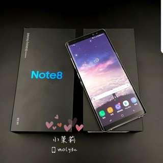 Samsung N950 Note 8 雙卡雙待 Gray紫灰4G 6.3吋 6G+64G Note8