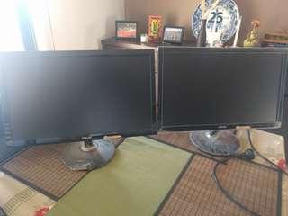 ASUS Dual Gaming Monitors