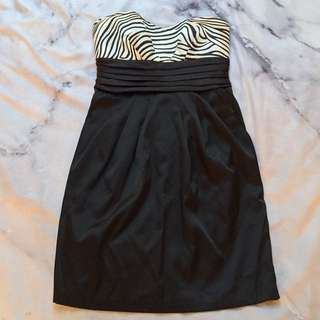 Size 8 Strapless Party Dress