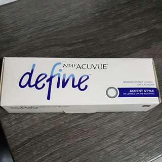 Acuvue daily define