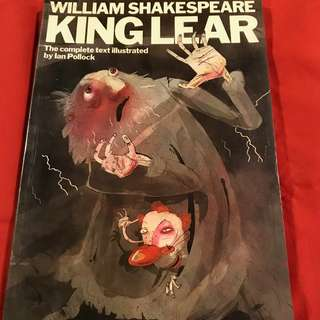 King Lear by William Shakespeare graphic novel illustrated by Ian Pollock