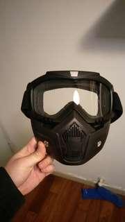 騎士 面具 面罩 復古