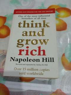 Think and grow author Napoleon Hill