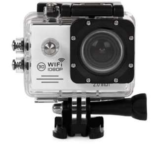 """SJ7000 Action Camera 2"""" LCD Wifi Waterproof Sports Camcorder Go Pro (Silver)"""