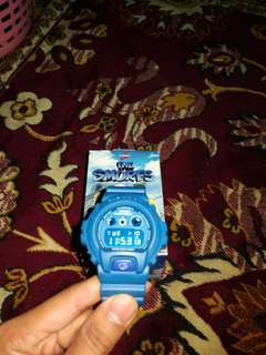 ORIGINAL G-SHOCK SMURF