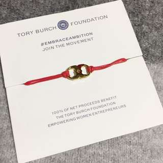 Tory Burch Embrace Ambition Bracelet Red