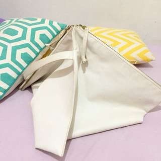 Cotton Ink Istanbul Bag White