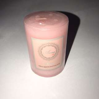 Aroma rose candle