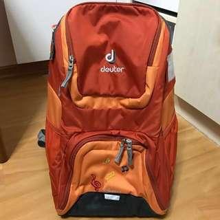 Deuter orange school bag