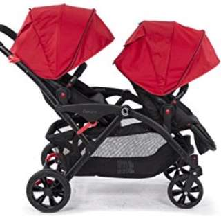 Contour tandem twin stroller