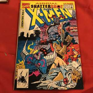 Annual Shatter Shot  Part 2 X-Men #comics