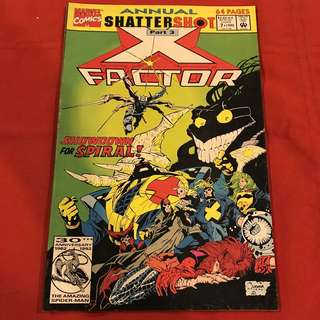 Annual Shattershot X-Factor Part 3 #comics