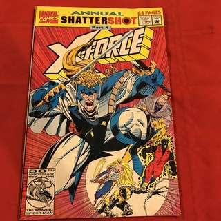 Annual Shatter Shot Part 4 X-Force #comics