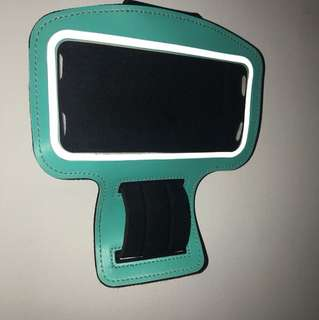 Fitness phone holder