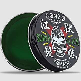 FREE DOORSTEP DELIVERY[GONZO SUPER SLICK POMADE WATERBASED STRONGHOLD]